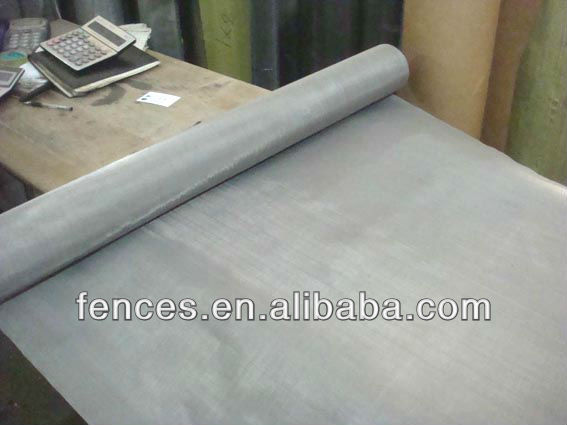Plain weave ss wire mesh (AISI316)