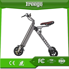 Freego new arrival ES18 three wheel foldable foldable chinese electric bike lithium battery
