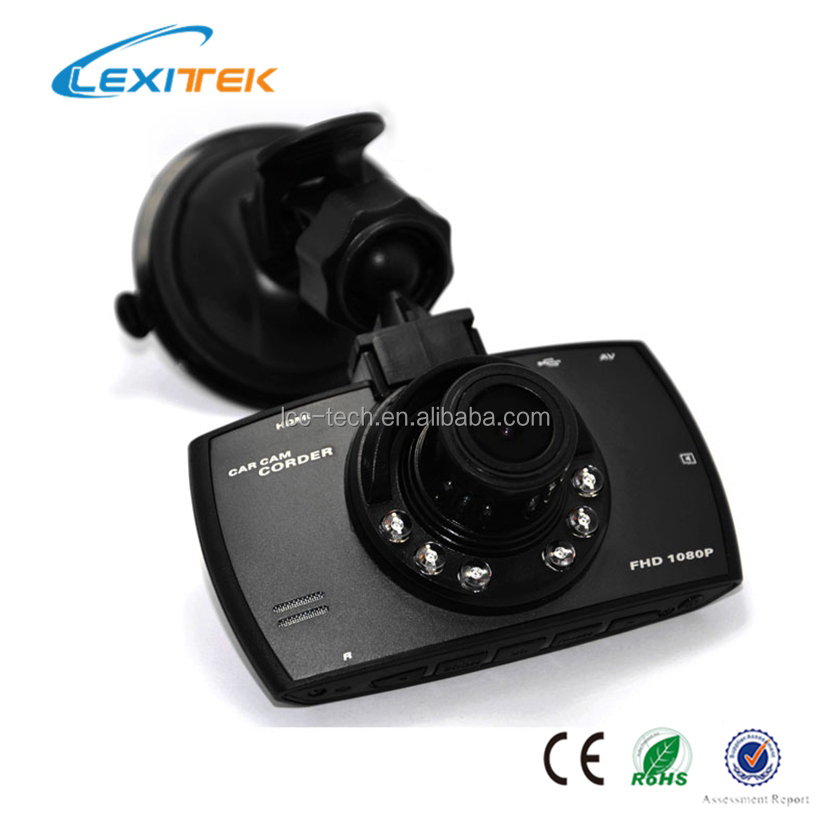 High quality IR night light security camera Car dvr supports memory card