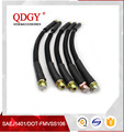 Dot fmvss106 sae j1401 rubber hydraulic brake hose line assembly