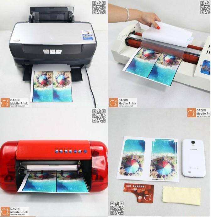 Customized laptop keyboard sticker printer