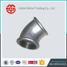 din bsp npt galvanized black malleable iron pipe fitting in china