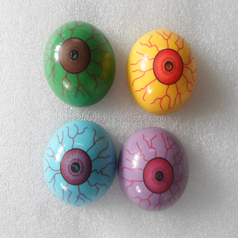 45MM cheaper kids jumping popper with eye printing