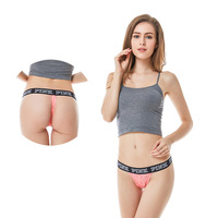 Sexy brand lace stocking panty underwear brief lingerie bikini women thong