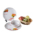 Non-toxic fair quality flower decal printing unbreakable plate/cup/bowl melamine tablewares