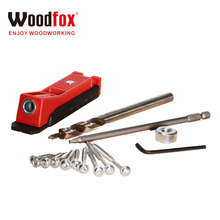 One hole jig mini tool pocket hole jig and kits hand tools with hss step drill bit and screws in box