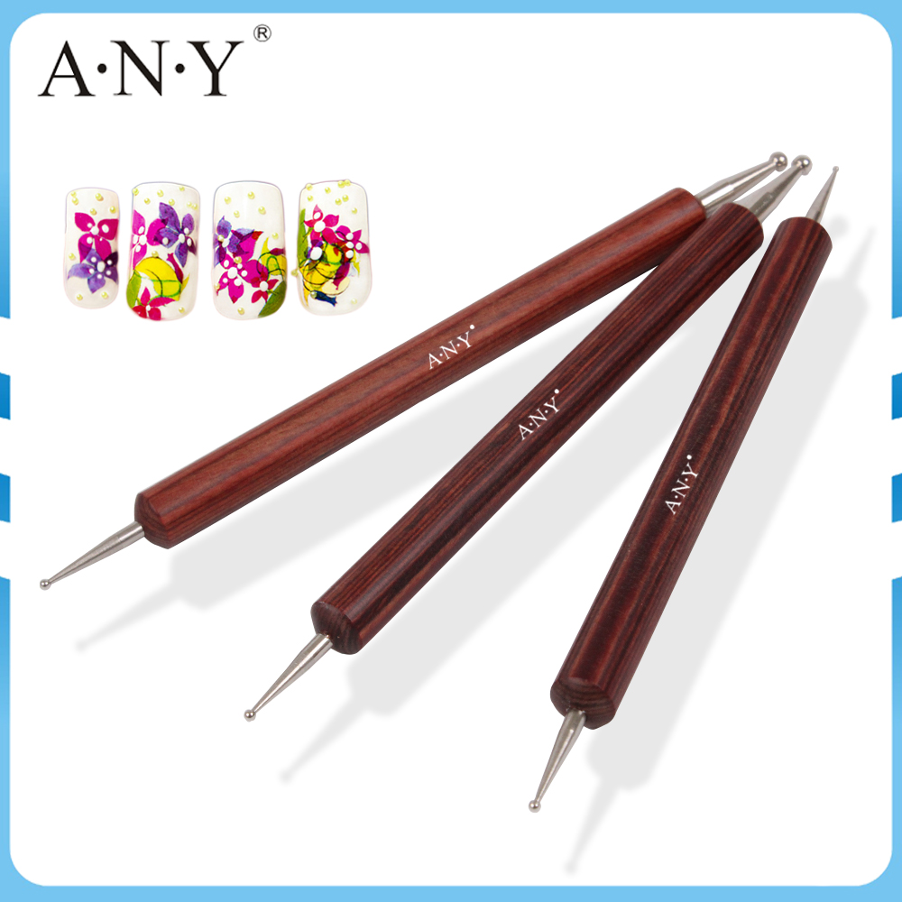ANY Hot-sale Nail Art Products Redwood Handle Dotting Pen