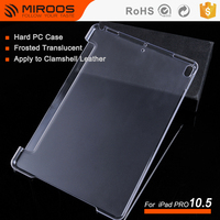 Miroos Matte Hard Plastic Tablet Cover Case for iPad Pro 10.5 inch Custom Book Case