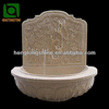 Marble Stone Carving Outdoor Wall Fountain