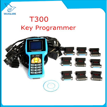 T300 Key Programmer Newest V16.8 T 300 T-300 OBD2 Auto Key Transponder English Spanish Optional T300 T-code Key Maker