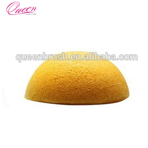 High demand products india deep cleaning tools turmeric yellow natural konjac sponge