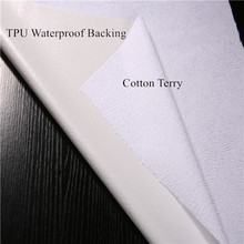 Waterproof Bamboo Terry Cloth Fabric Laminated With TPU Membrane