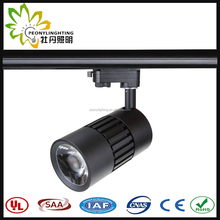 2/3/4 wires COB led track spot light 30w with 10/23/38 degree beam angle,track light led,led track lighting