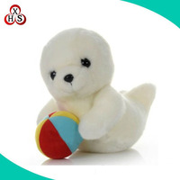 Wholesale plush sea dog toy stuffed soft plush sea lion toy