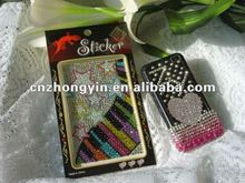 2012 Fashion Bling Cell Phone Sticker