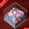 Flower Packing Box For Gift / Clear Box Home Decoration