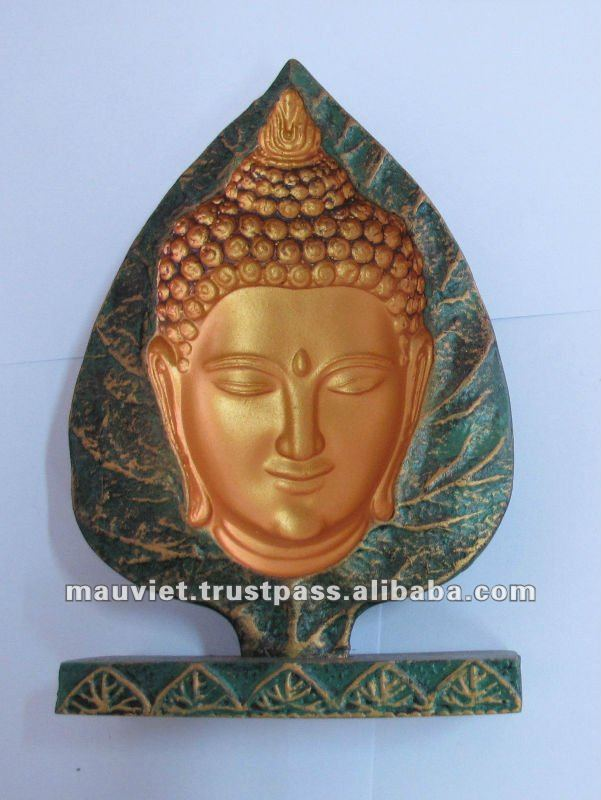 Polyresin craft Buddha statue for home & office decoration