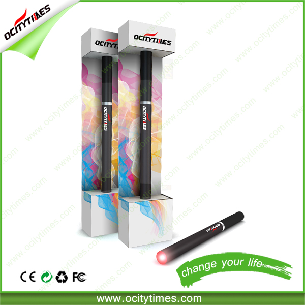 Custom logo for plastic tube vaporizer/disposable e cigarettes 500 puff/buy electronic cigarette from Ocitytimes