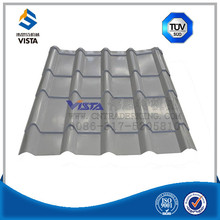Cheap roofing materials corrugated PVC plastic roofing sheet / Color glaze corrugated steel sheet