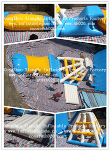 Hot sale commercial grade PVC Tarpaulin brand new WG51 inflatable Jungle Jim