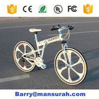 MANSURAH wrought iron heavy duty fat bicycle