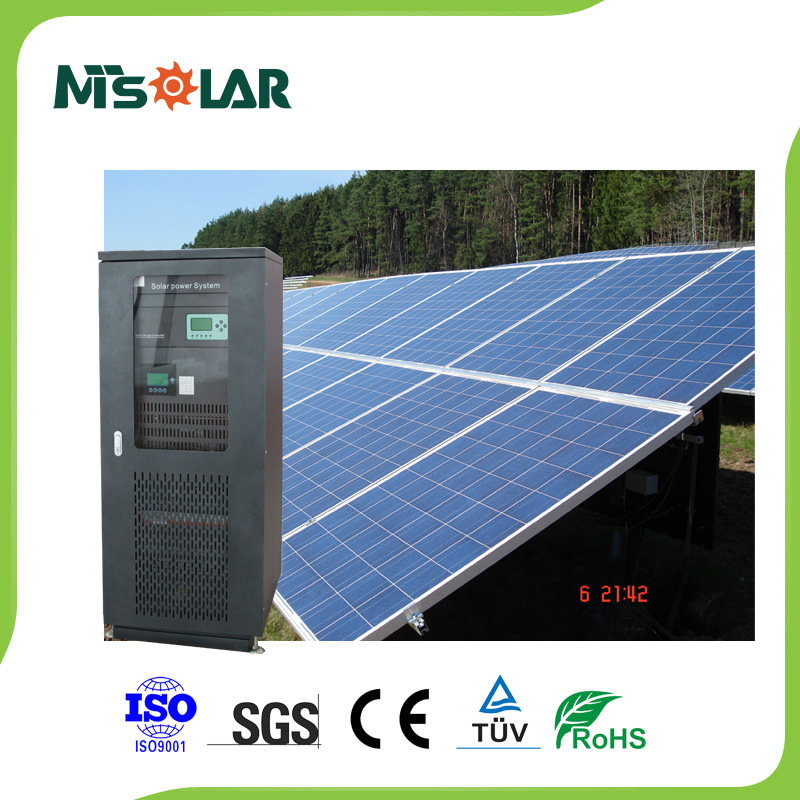 20kw on-grid solar energy system with grid tie inverter