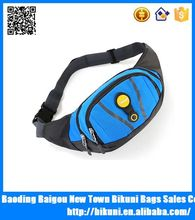 Promotional low MOQ sports running fanny pack waist pouch money bag cheap waist bag from China