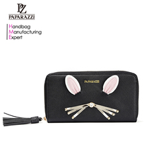 7018A- Cute Hello Kitty Pattern Long Lady Purse Card Holder, Women Leather Bags and Wallets Online Shopping