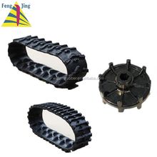 Taizhou snow removal vehicles drive sprocket rubber track