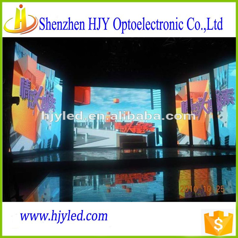 wholesale china factory p4 indoor rental led display light led stage background led video