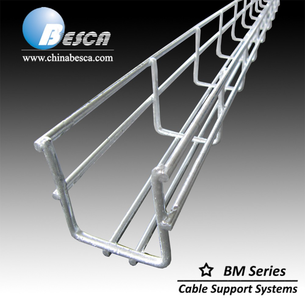 Galvanized Steel Wire Mesh Basket Cable Tray(Cablofil,UL,CE), View ...