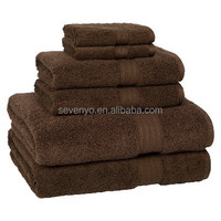 high quality 5 star hotel dobby towels China supplier