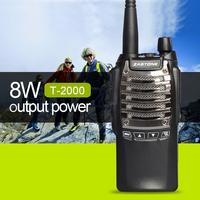 New ZASTONE ZT-T2000 two way radio walkie talkie 8w 2100mAh handheld radio communication equipment prices