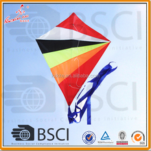 color customized good flying diamond kite
