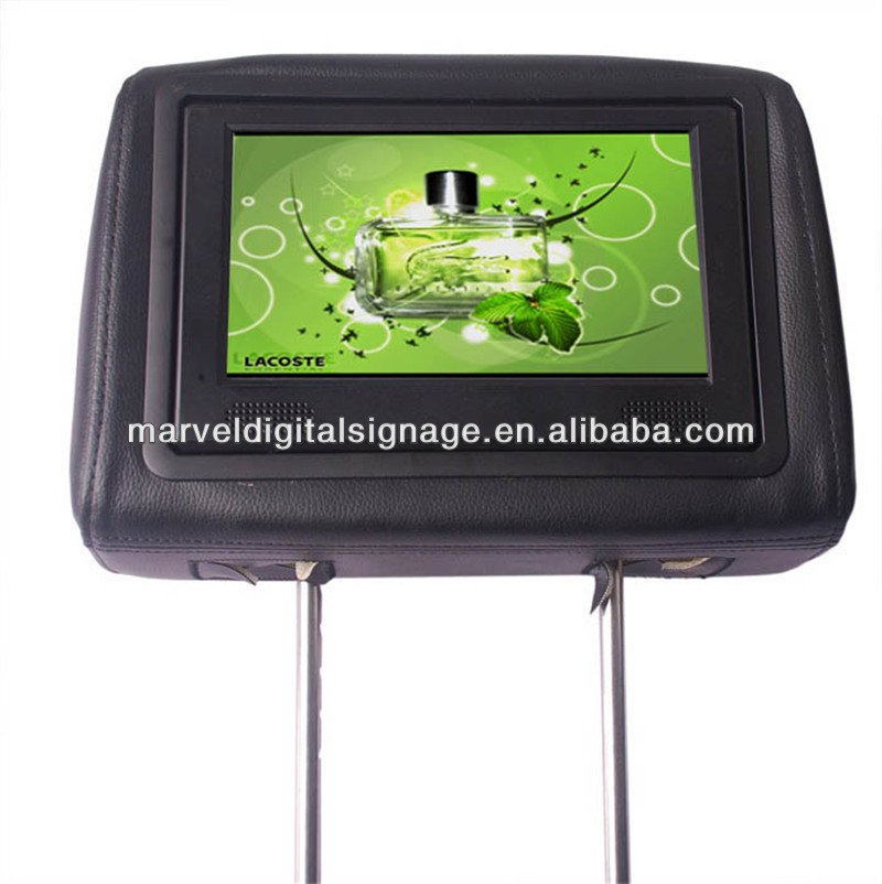 Hotsale 8 inch network taxi lcd advertising screen
