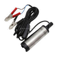 DC12V Stainless Steel Submersible Diesel Fuel Water Oil Pump 12L Per Minute 38mm