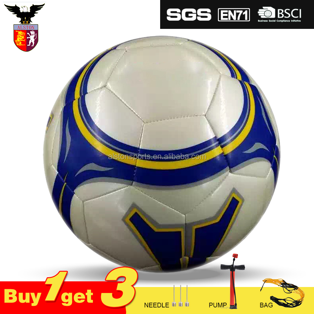 Machine Sewn Official Size Soccer Ball Custom Logo Printing Football Size 5 5# Promotion And Training