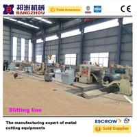 Auto hydraulic stainless steel coil slitting machine for sale