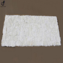 China factory supply cheap price scrap of real rex rabbit skin fur plate