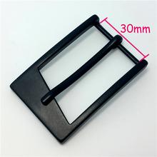 Hot sale metal nickle custom pin buckle for 30mm wide belt