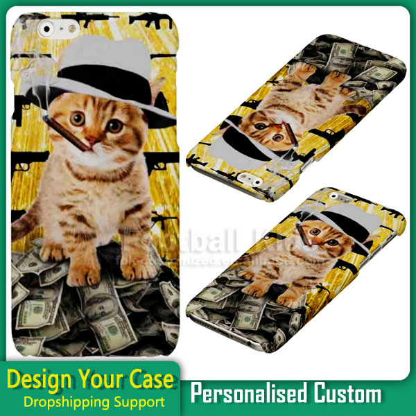 High quality custom 3d sublimation cell phone case for iPhone 6 dropshipping Support