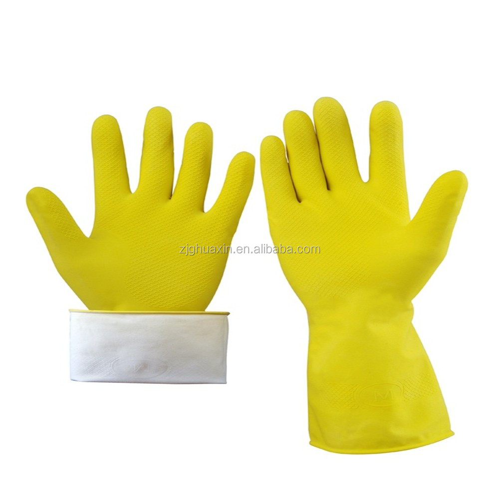 Colorful Long Household Rubber Glove Manufacturer
