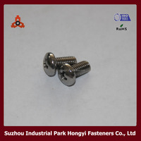 Screw Fasteners DIN7985 Cross Recessed Pan Screws For Office Chair