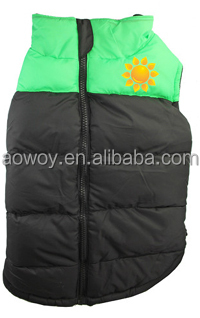 pet dog vest custom logo imprinted big dog sports vest green clothes pet products 502