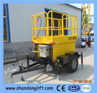 4m removable aerial work platform with 500kgs lift capacity with CE