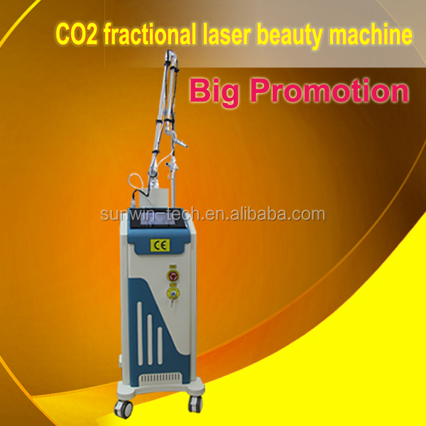 SW-333E Fractional CO2 laser for smoothing wrinkles and eliminating scars with CE on promotion