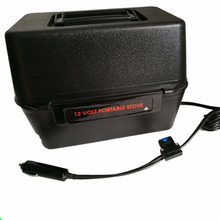 new products fast heating large volume 12V or 24V portable stove car truck or van electric lunch box