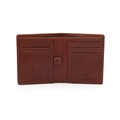 Wholesale man leather slim wallet bifold genuine leather men wallet