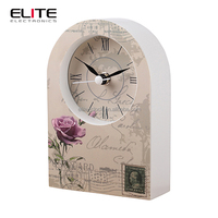 guangzhou home decor creative antique old fashioned table clock