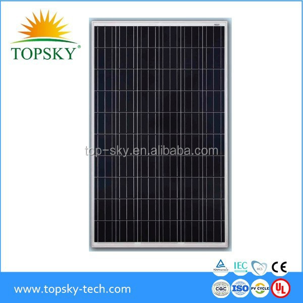 2017 new price for Top 10 brand A grade 250W, 255W 260W 265W 300W 310W Poly solar panel PV panel/module